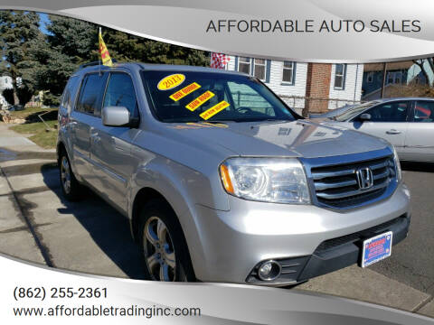 2013 Honda Pilot for sale at Affordable Auto Sales in Irvington NJ