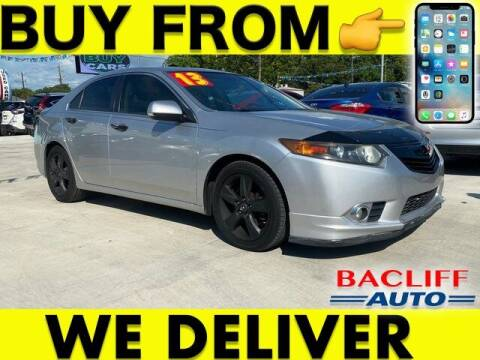 2013 Acura TSX for sale at Bacliff Auto in Bacliff TX
