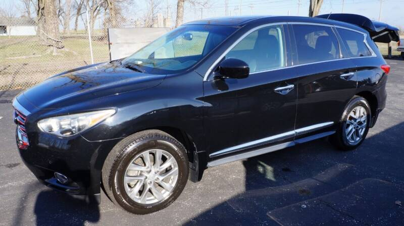 2013 Infiniti JX35 for sale at G & R Auto Sales in Charlestown IN
