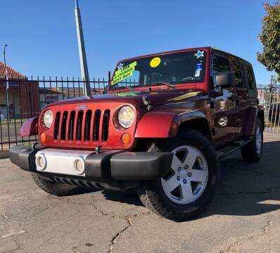 2008 Jeep Wrangler Unlimited for sale at LUGO AUTO GROUP in Sacramento CA
