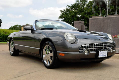 2003 Ford Thunderbird for sale at European Motor Cars LTD in Fort Worth TX