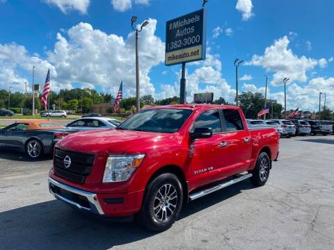 2020 Nissan Titan for sale at Michaels Autos in Orlando FL