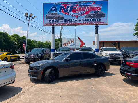 2019 Dodge Charger for sale at ANF AUTO FINANCE in Houston TX