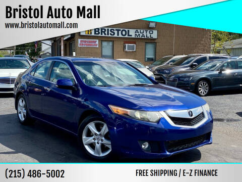 2009 Acura TSX for sale at Bristol Auto Mall in Levittown PA