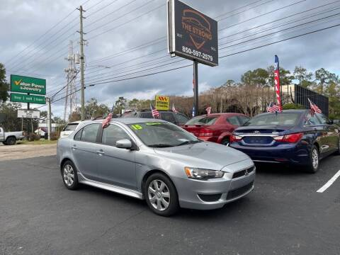 2015 Mitsubishi Lancer for sale at The Strong St. Moses Auto Sales LLC in Tallahassee FL
