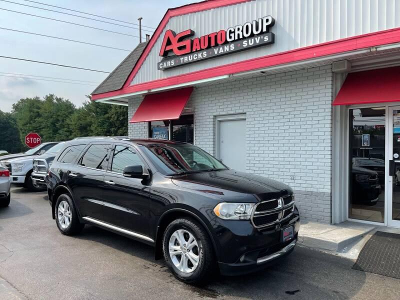 2013 Dodge Durango for sale at AG AUTOGROUP in Vineland NJ
