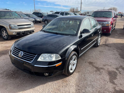 2004 Volkswagen Passat for sale at PYRAMID MOTORS - Fountain Lot in Fountain CO
