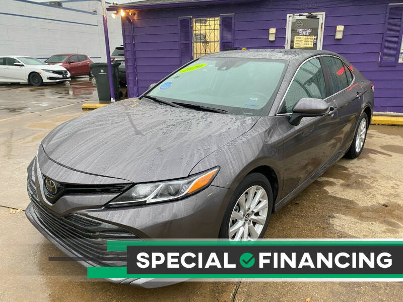 2020 Toyota Camry for sale at Quality Auto Sales LLC in Garland TX