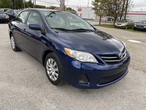 2013 Toyota Corolla for sale at 2EZ Auto Sales in Indianapolis IN