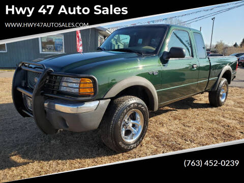 2001 Ford Ranger for sale at Hwy 47 Auto Sales in Saint Francis MN