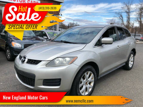 2007 Mazda CX-7 for sale at New England Motor Cars in Springfield MA
