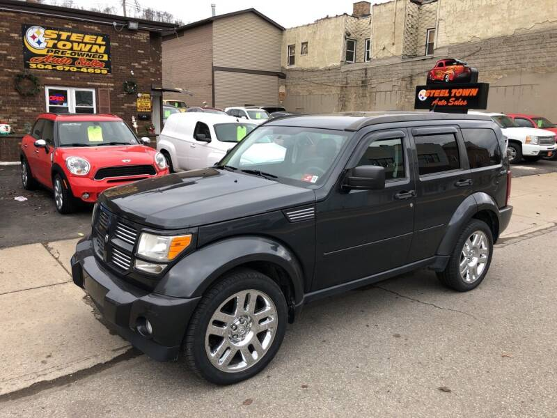 2011 Dodge Nitro for sale at STEEL TOWN PRE OWNED AUTO SALES in Weirton WV
