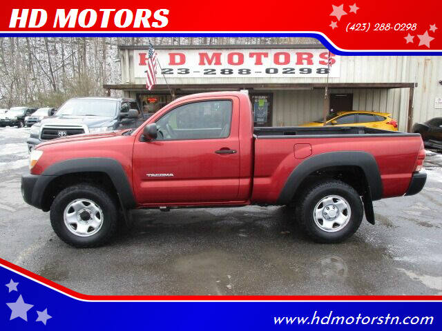 2005 Toyota Tacoma for sale at HD MOTORS in Kingsport TN