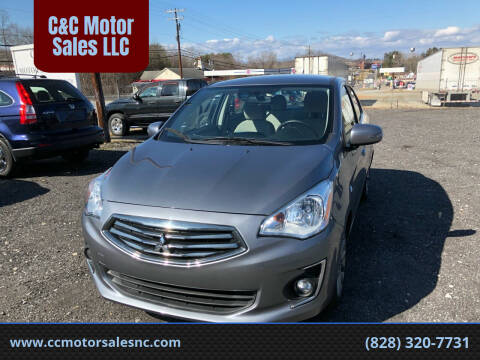 2019 Mitsubishi Mirage G4 for sale at C&C Motor Sales LLC in Hudson NC