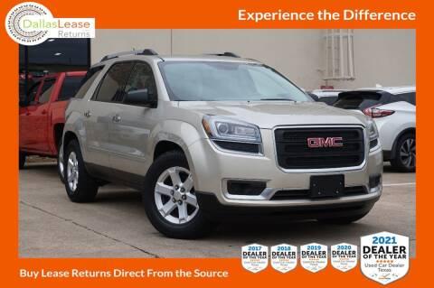 2016 GMC Acadia for sale at Dallas Auto Finance in Dallas TX
