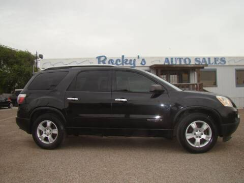 2008 GMC Acadia for sale at Rocky's Auto Sales in Corpus Christi TX
