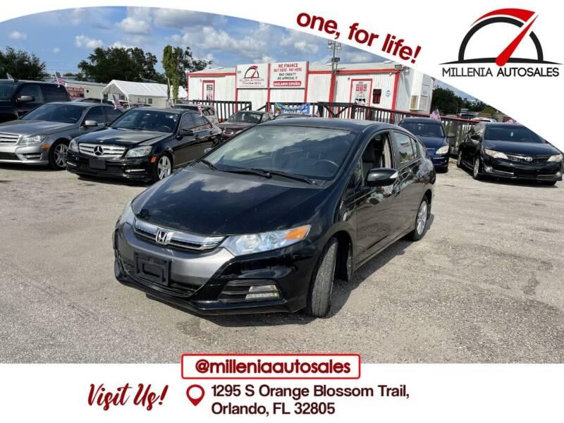 2013 Honda Insight for sale at Millenia Auto Sales in Orlando FL