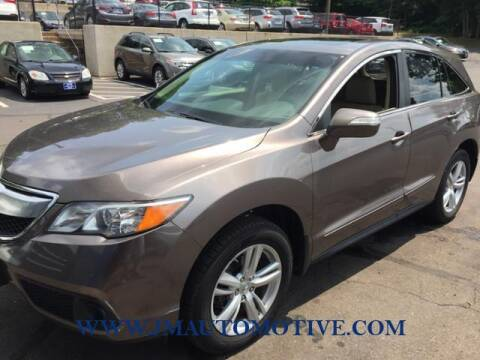 2013 Acura RDX for sale at J & M Automotive in Naugatuck CT