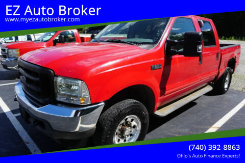 2004 Ford F-250 Super Duty for sale at EZ Auto Broker in Mount Vernon OH