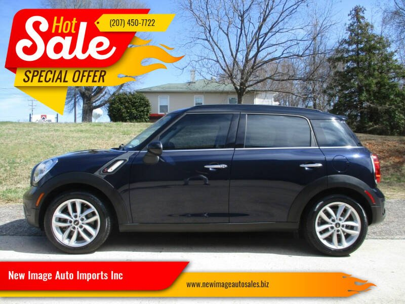 2013 MINI Countryman for sale at New Image Auto Imports Inc in Mooresville NC