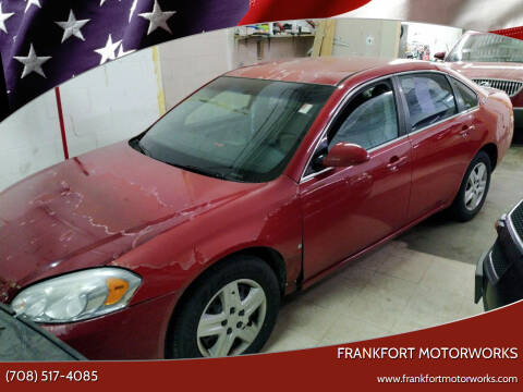 2008 Chevrolet Impala for sale at Frankfort Motorworks in Frankfort IL