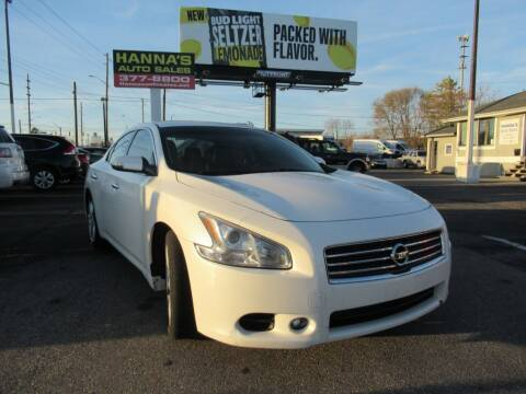 2010 Nissan Maxima for sale at Hanna's Auto Sales in Indianapolis IN