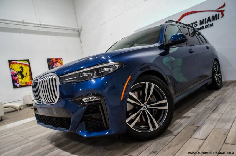 2021 BMW X7 for sale at AUTO IMPORTS MIAMI in Fort Lauderdale FL