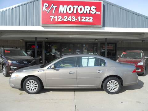 2007 Buick Lucerne for sale at RT Motors Inc in Atlantic IA