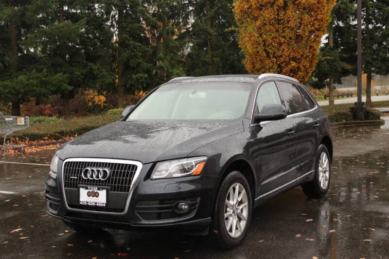 2012 Audi Q5 for sale at Top Gear Motors in Lynnwood WA