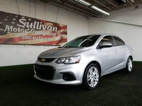 2018 Chevrolet Sonic for sale at SULLIVAN MOTOR COMPANY INC. in Mesa AZ