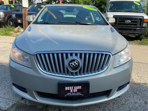 2010 Buick LaCrosse for sale at Best Cars R Us in Plainfield NJ