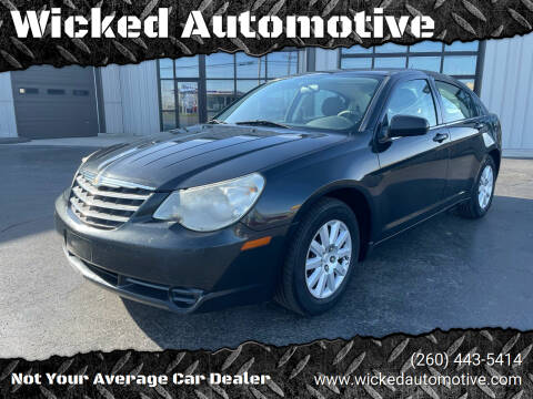 2008 Chrysler Sebring for sale at Wicked Automotive in Fort Wayne IN