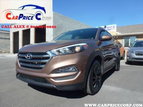 2016 Hyundai Tucson for sale at CarPrice Corp in Murray UT