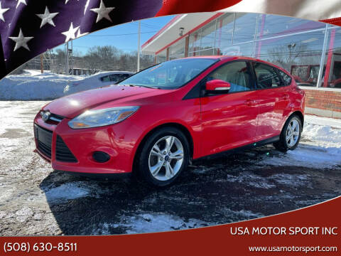 2014 Ford Focus for sale at USA Motor Sport inc in Marlborough MA