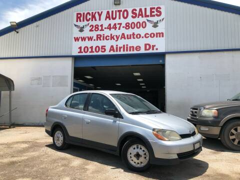 2000 Toyota ECHO for sale at Ricky Auto Sales in Houston TX