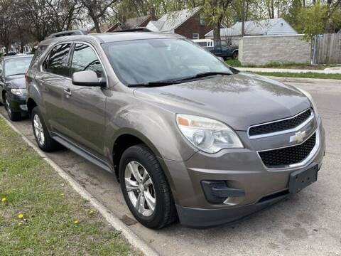 2012 Chevrolet Equinox for sale at SOUTHFIELD QUALITY CARS in Detroit MI
