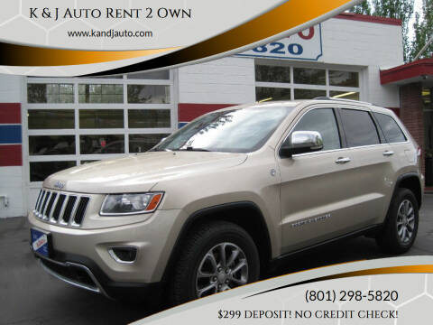2014 Jeep Grand Cherokee for sale at K & J Auto Rent 2 Own in Bountiful UT