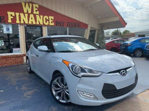 2015 Hyundai Veloster for sale at Caspian Auto Sales in Oklahoma City OK