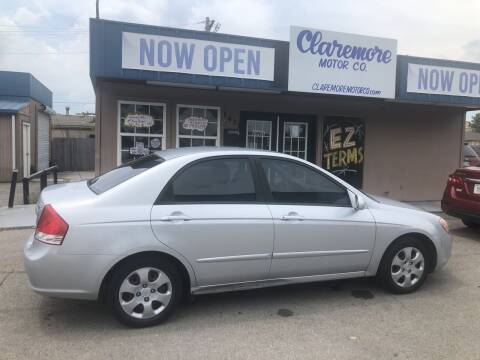 2007 Kia Spectra for sale at Claremore Motor Company in Claremore OK