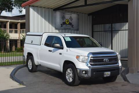 2015 Toyota Tundra for sale at G MOTORS in Houston TX