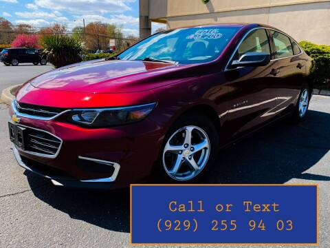 2016 Chevrolet Malibu for sale at Ultimate Motors in Port Monmouth NJ