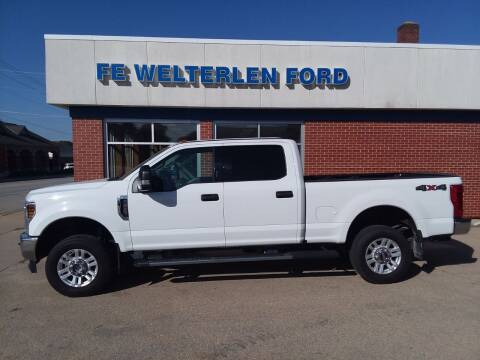 2018 Ford F-250 Super Duty for sale at Welterlen Motors in Edgewood IA