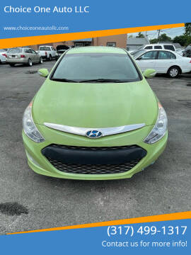 2014 Hyundai Sonata Hybrid for sale at Choice One Auto LLC in Beech Grove IN