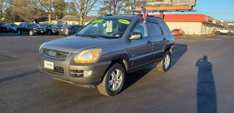 2007 Kia Sportage for sale at EXPRESS AUTO SALES in Midlothian VA