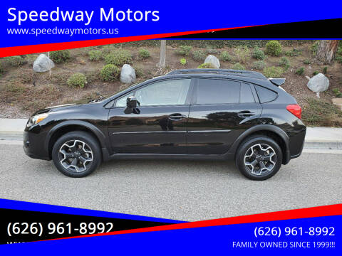 2013 Subaru XV Crosstrek for sale at Speedway Motors in Glendora CA