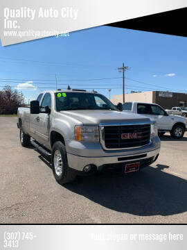 2008 GMC Sierra 2500HD for sale at Quality Auto City Inc. in Laramie WY