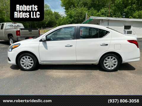 2017 Nissan Versa for sale at Roberts Rides LLC in Franklin OH