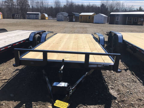 2021 zRettig 18ft flatbed 7000LBS for sale at Greg's Auto Sales in Searsport ME