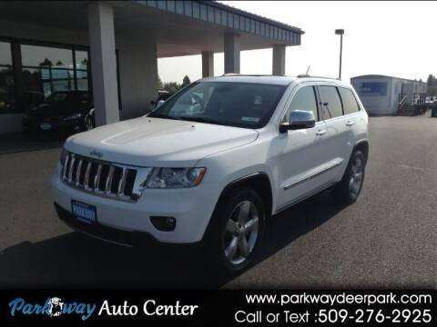 2013 Jeep Grand Cherokee for sale at PARKWAY AUTO CENTER AND RV in Deer Park WA