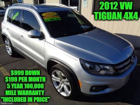 2012 Volkswagen Tiguan for sale at D&D Auto Sales, LLC in Rowley MA